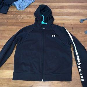Under armour long sleeve full zip hoodie